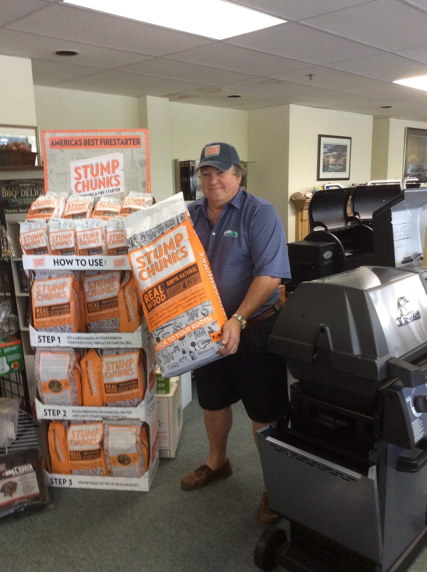 Stump Chunks – April Large Bag and Hat Contest Winner