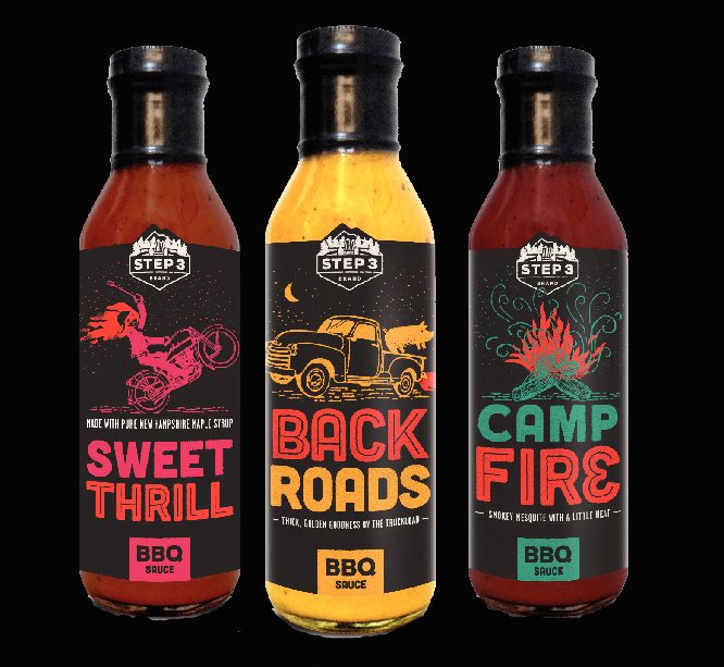 Step 3 Brand BBQ Sauce