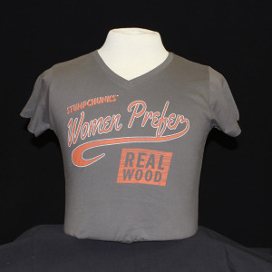 Women Prefer - Vneck - Gray